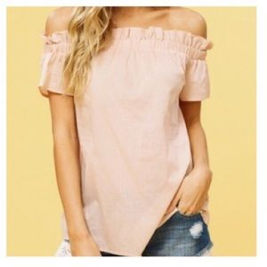 Listicle off the shoulder top